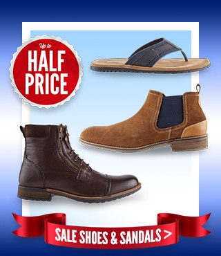 Men's Sale Shoes & Sandals