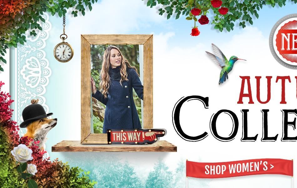 Shop Women's Autumn Winter 2017 Collection