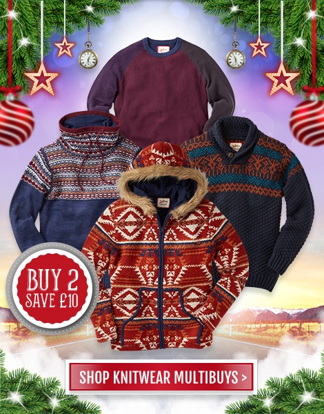 Shop Men's Knitwear Offer