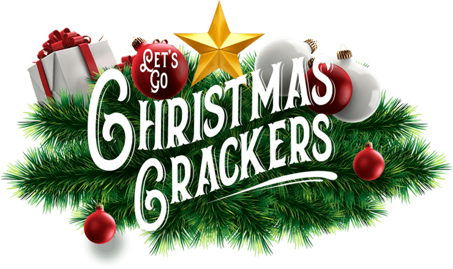 Let's Go Christmas Crackers title