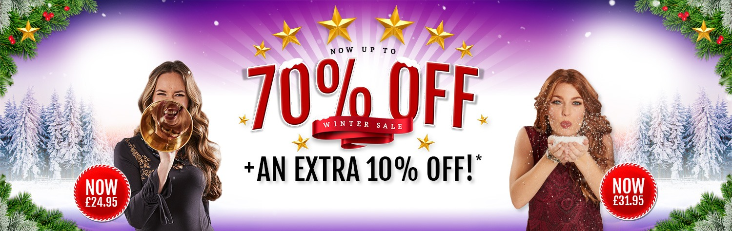 Sale + EXTRA 10% OFF