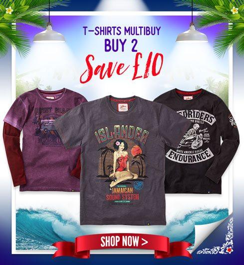 Men's T-Shirts Multibuy