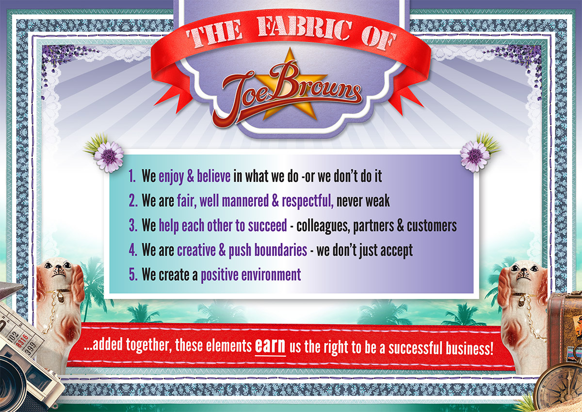 The Fabric of Joe Browns poster