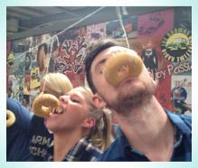 staff doughnut competition