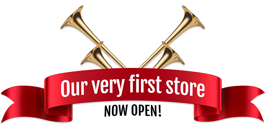 Our Very First Store - Now Open!