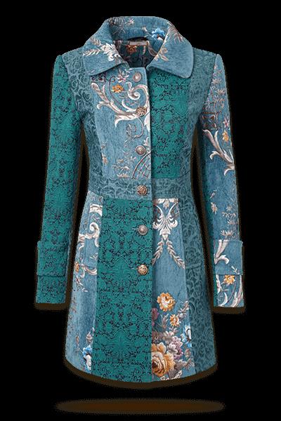 Joyful Jacquard Coat
