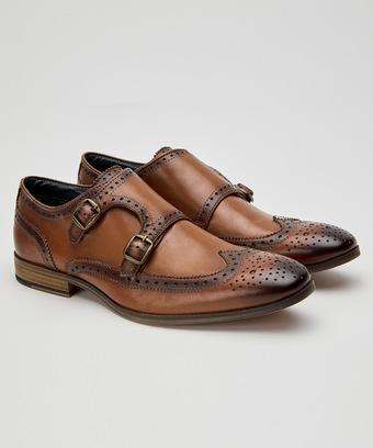 Gentlemens Monk Strap Shoes Men Latest Mens Collection