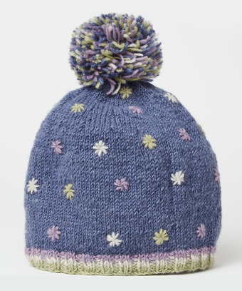 e6deb6e5 Embroidered Wool Bobble Hat, Joes Outlet, Ladies sale accessories and  jewellery