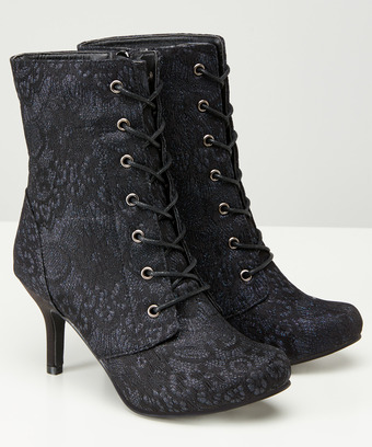 a72a7dc5a9 Mysterious Lacey Boots, Women, Womens Shoes, Boots and Sandals