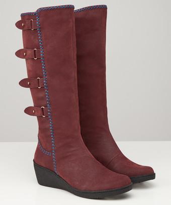 0bdf53d08390 Madison Wedge Boots