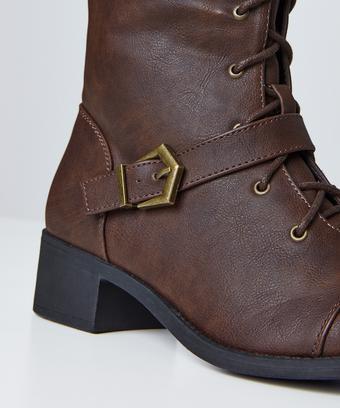 93de2a901417b Sweet Talkin' Lace Up Boots
