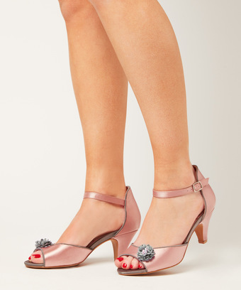 e3afcf5716fb Dainty Dora Satin Shoes. Swipe to view more images
