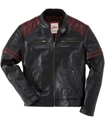 8eee75436 Leather Burnout Biker Jacket