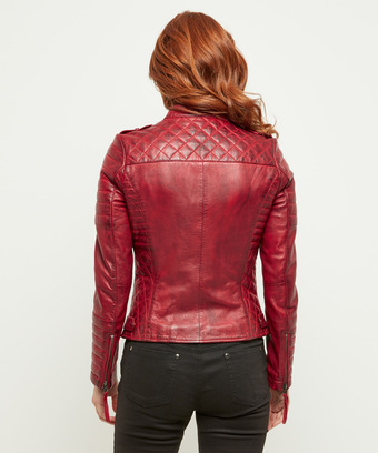 ae453109 Candid Quilted Leather Jacket